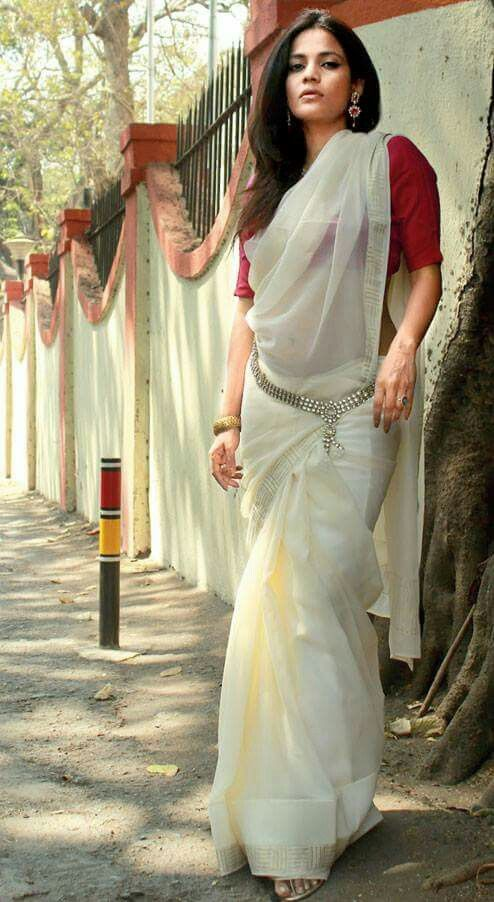 Different Saree Wearing Style (276)