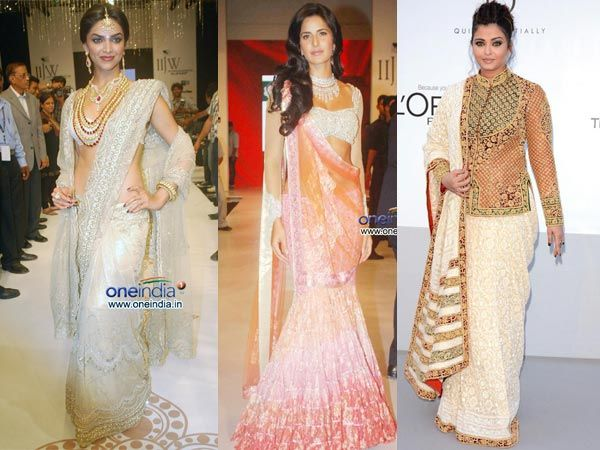 Different Saree Wearing Style (277)