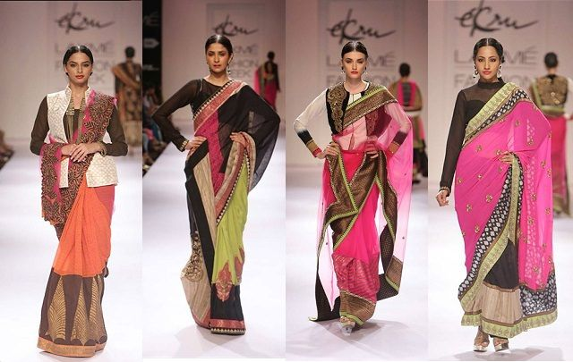 Different Saree Wearing Style (279)