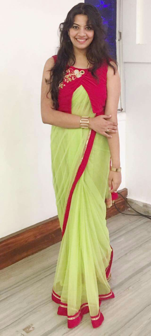 Different Saree Wearing Style (28)