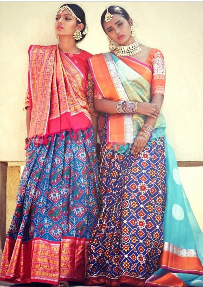 Different Saree Wearing Style (283)