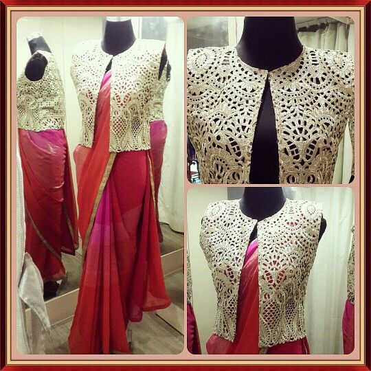 Different Saree Wearing Style (292)