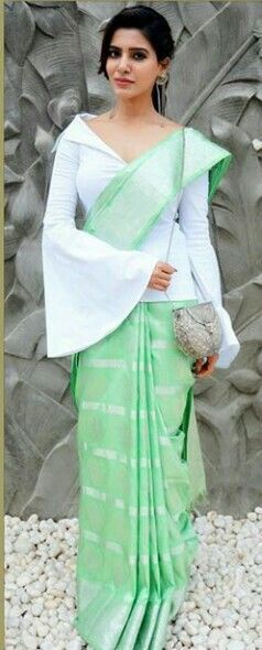 Different Saree Wearing Style (295)