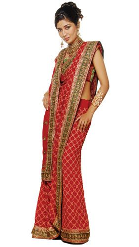 Different Saree Wearing Style (298)