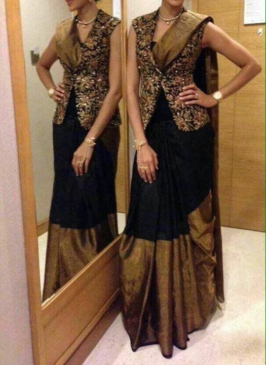 Different Saree Wearing Style (3)