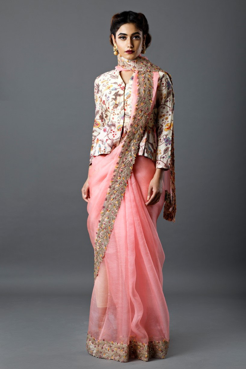 Different Saree Wearing Style (302)