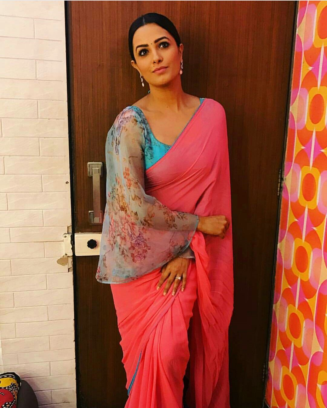 Different Saree Wearing Style (303)