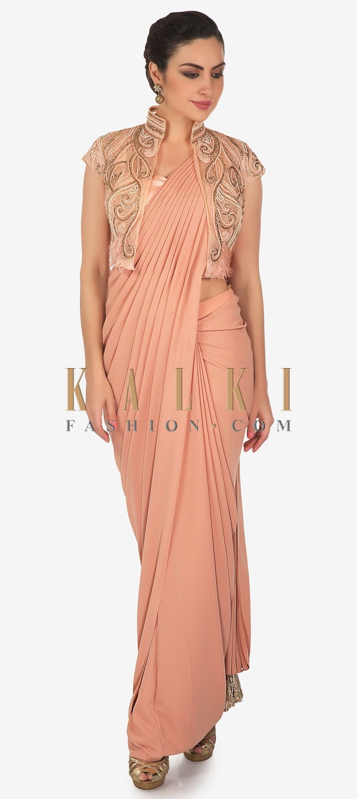Different Saree Wearing Style (309)