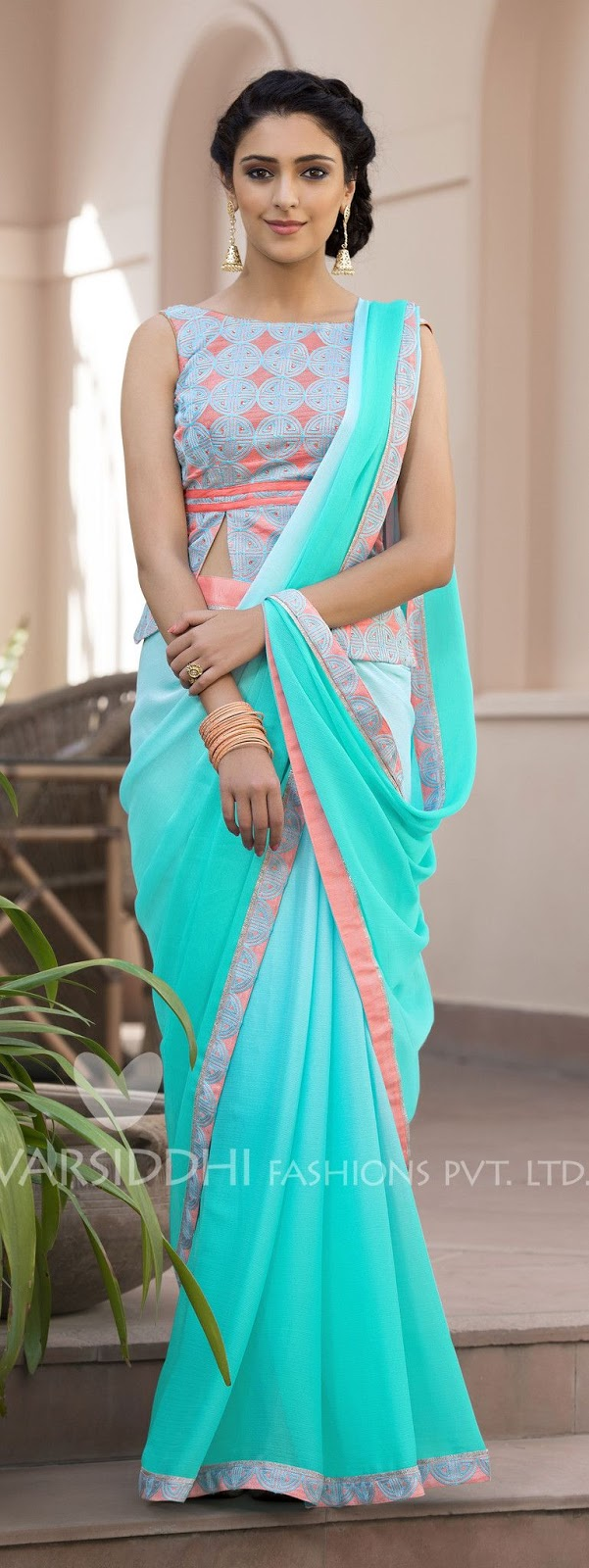 Different Saree Wearing Style (312)