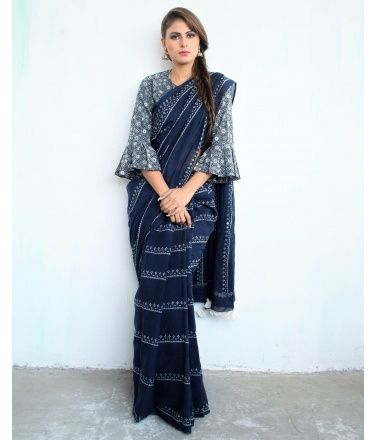 Different Saree Wearing Style (316)