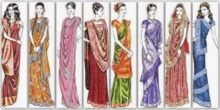 Different Saree Wearing Style (32)
