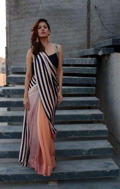 Different Saree Wearing Style (321)