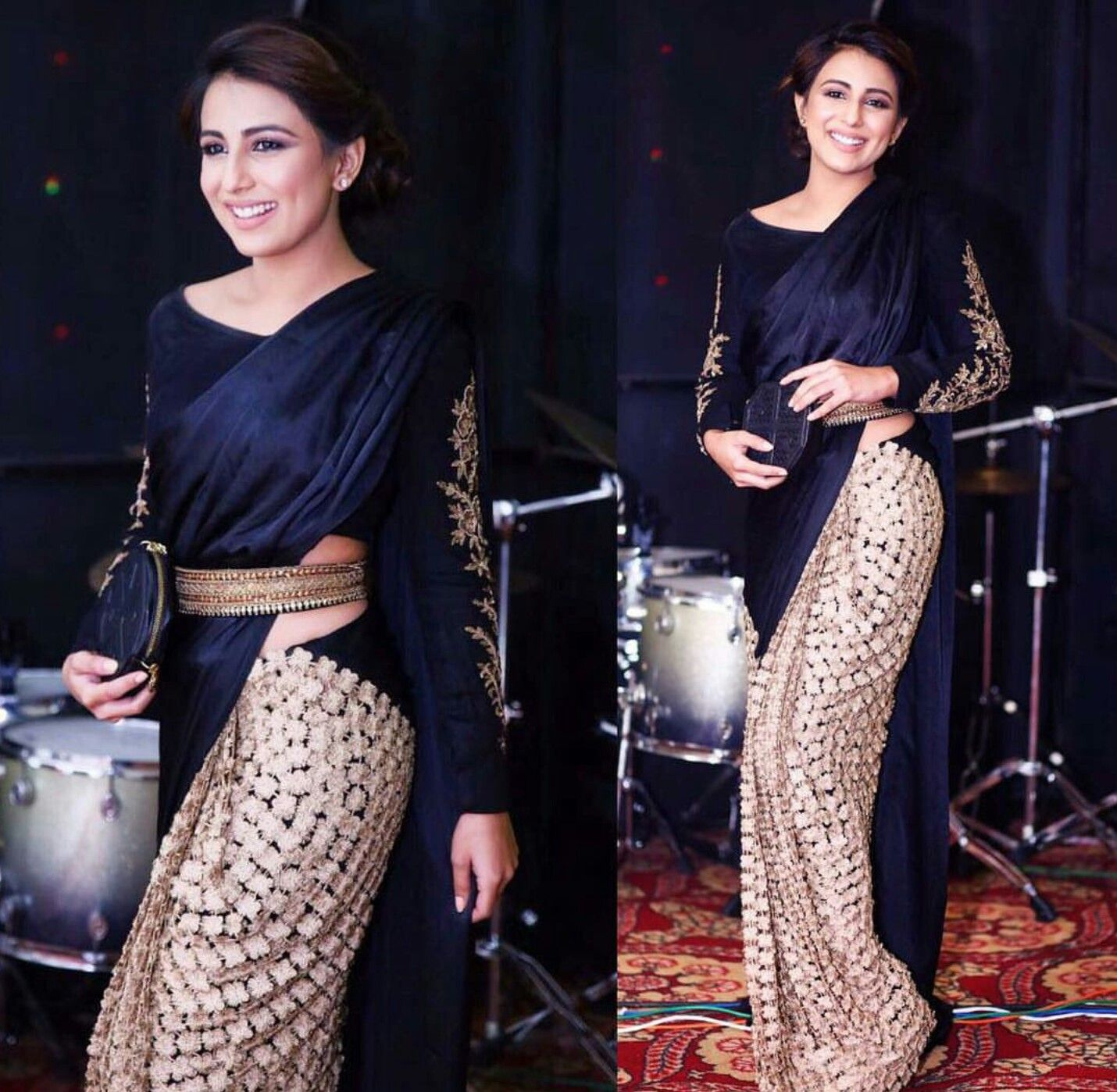 Different Saree Wearing Style (327)