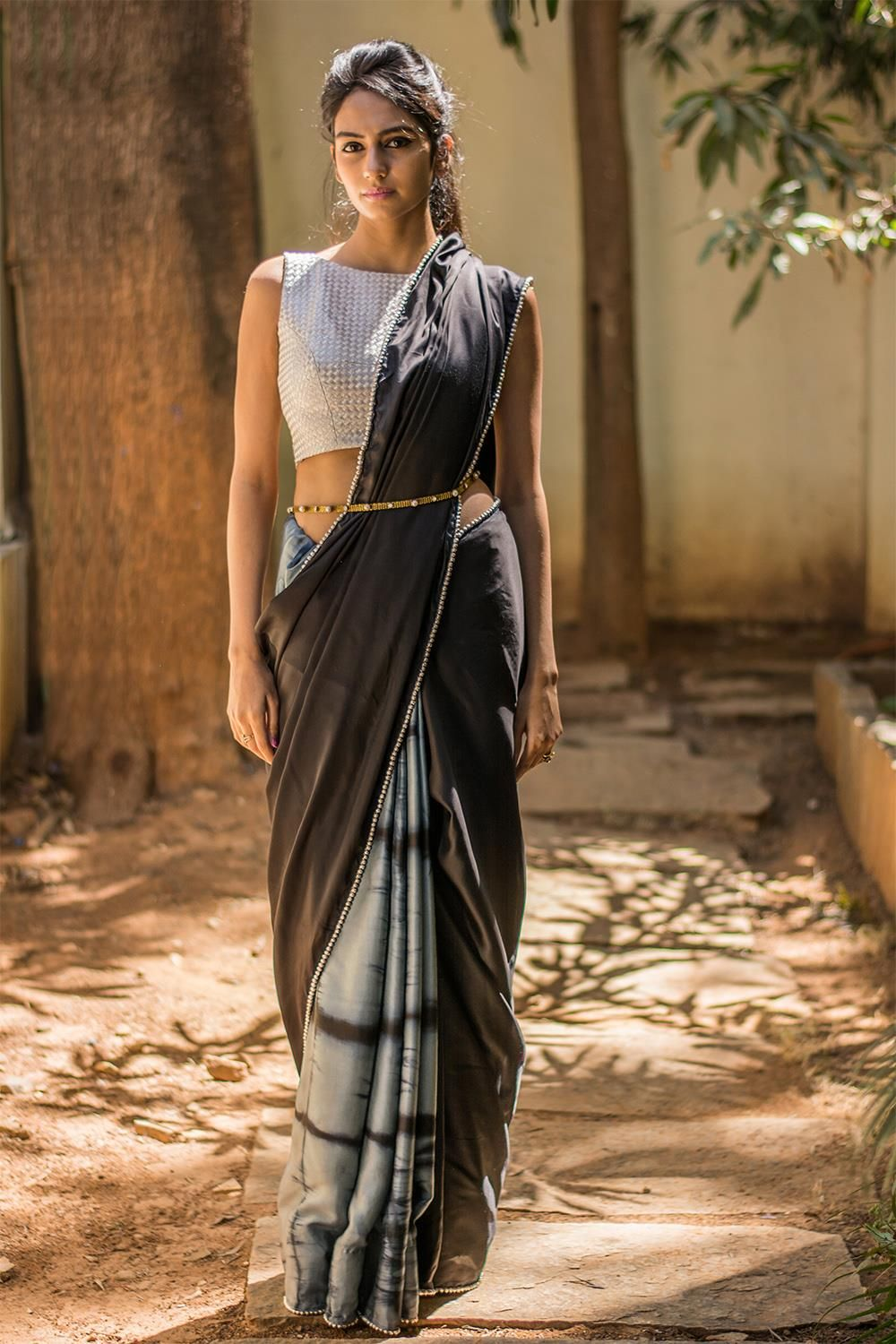 Different Saree Wearing Style (330)