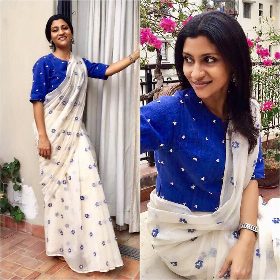 Different Saree Wearing Style (333)