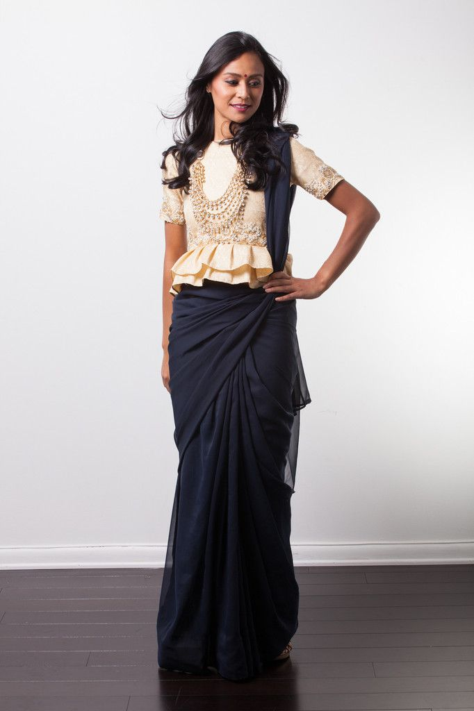 Different Saree Wearing Style (339)
