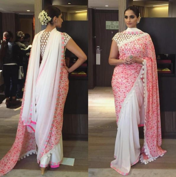 Different Saree Wearing Style (34)
