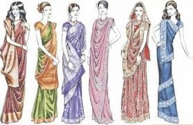 Different Saree Wearing Style (340)