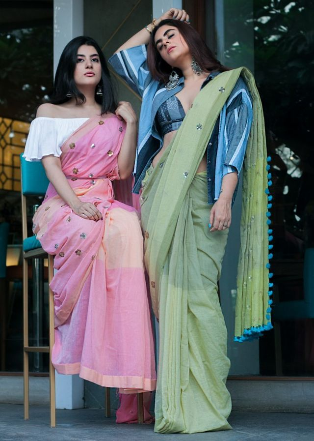 Different Saree Wearing Style (342)