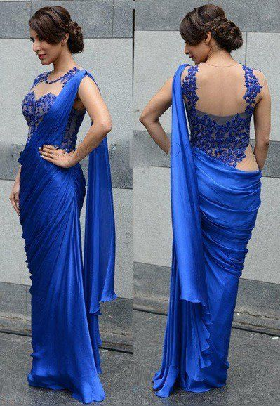 Different Saree Wearing Style (344)