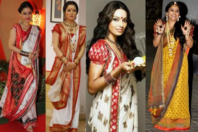 Different Saree Wearing Style (346)