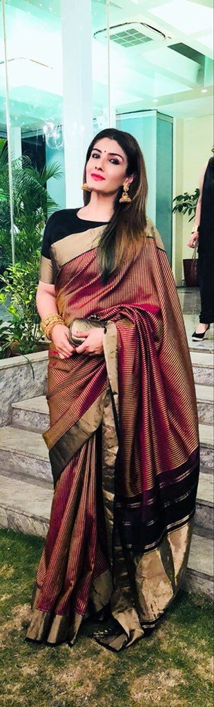 Different Saree Wearing Style (41)