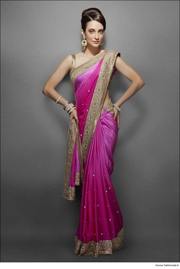 Different Saree Wearing Style (43)