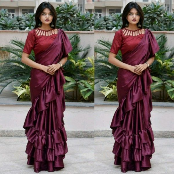 Different Saree Wearing Style (45)