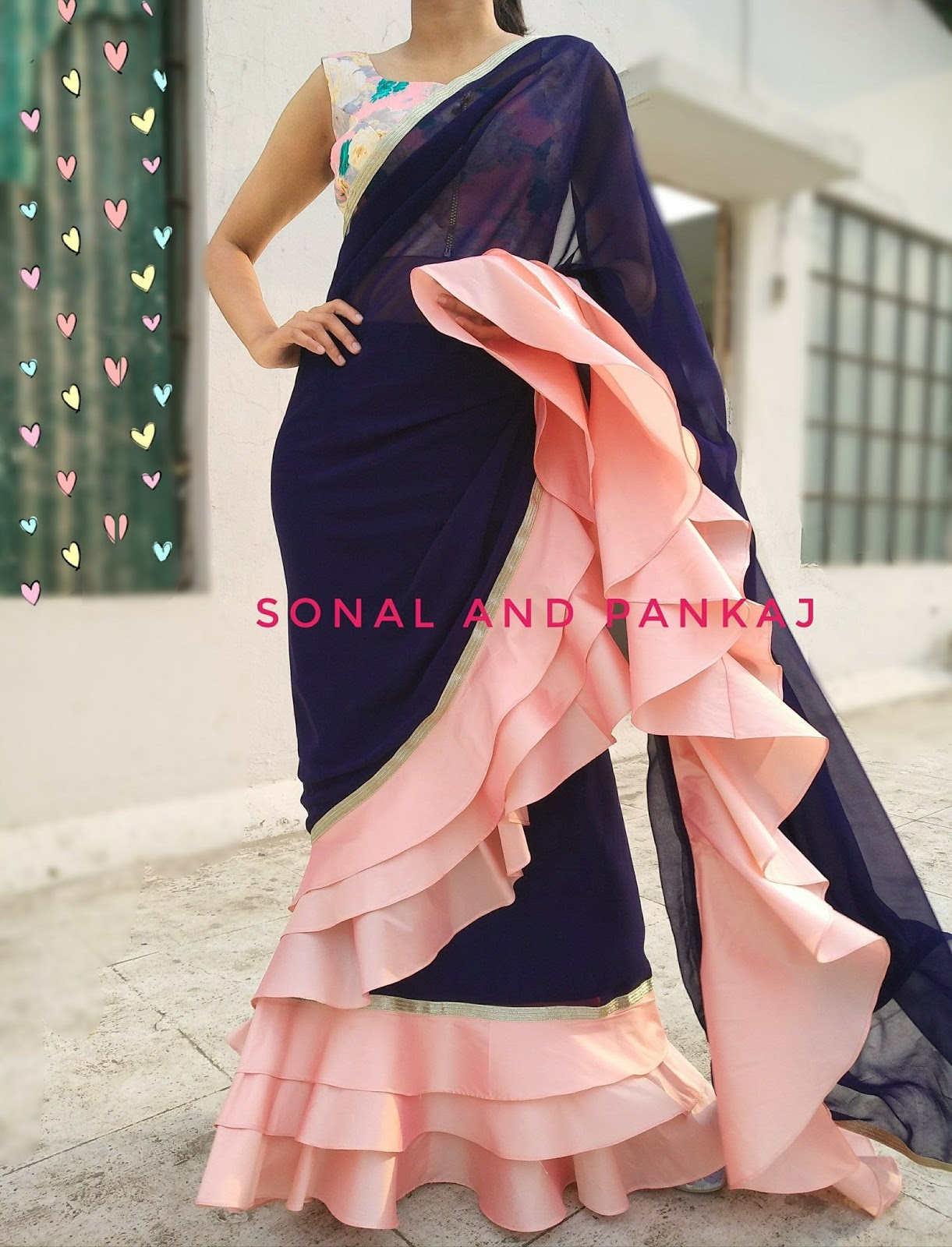 Different Saree Wearing Style (49)