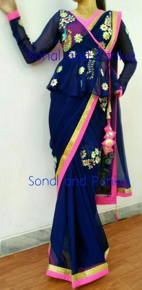 Different Saree Wearing Style (5)