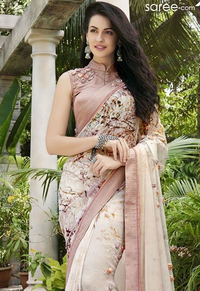 Different Saree Wearing Style (56)