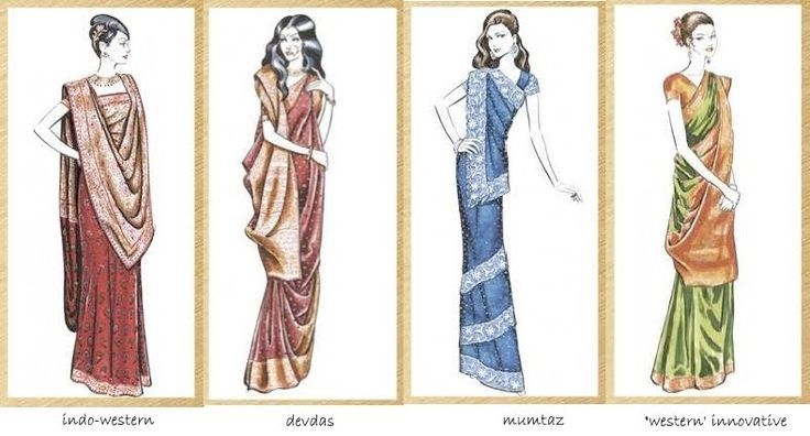 Different Saree Wearing Style (69)