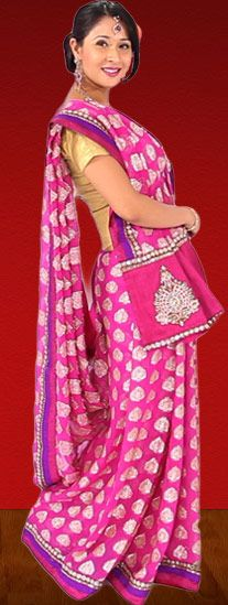 Different Saree Wearing Style (77)