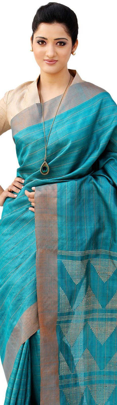 Different Saree Wearing Style (78)