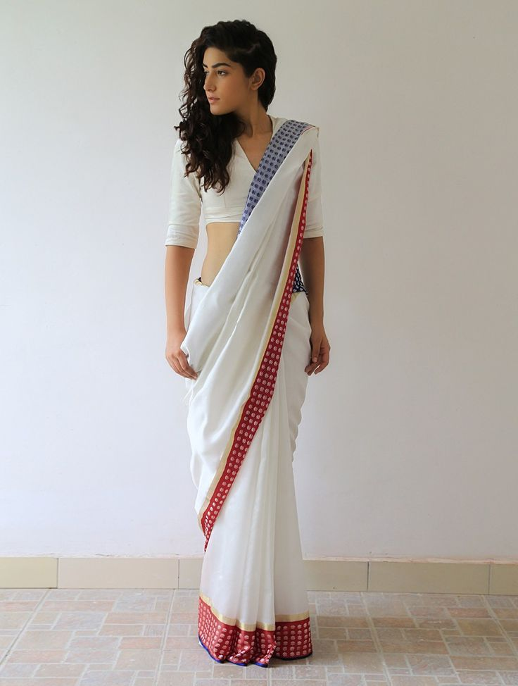 Different Saree Wearing Style (8)