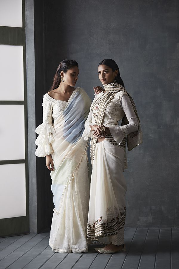 Different Saree Wearing Style (81)