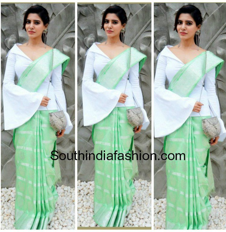 Different Saree Wearing Style (90)