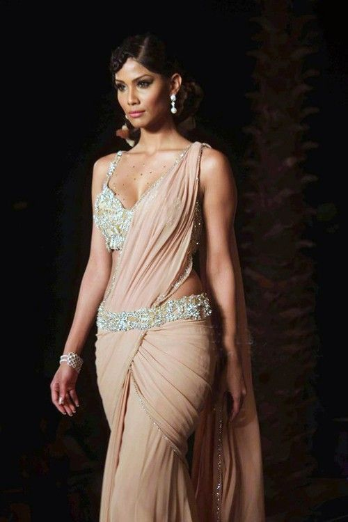 Different Saree Wearing Style (91)