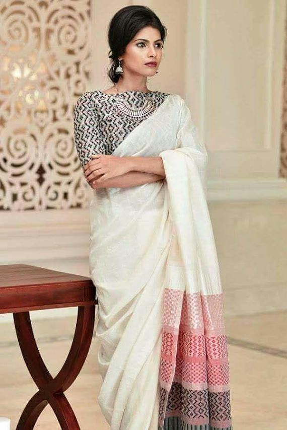 Different Saree Wearing Style (92)