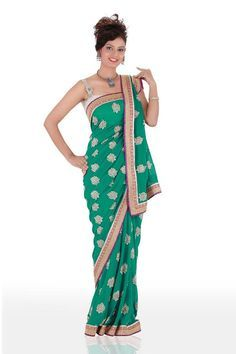Different Saree Wearing Style (98)