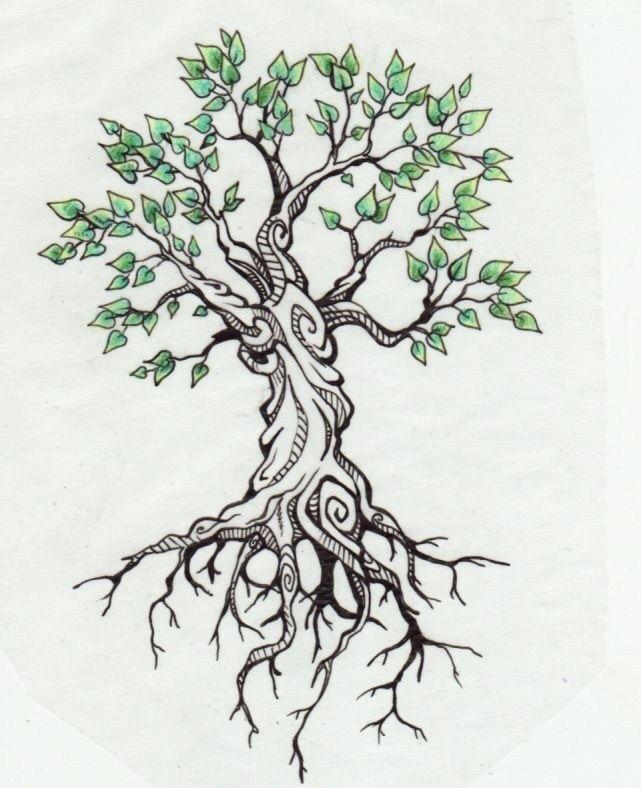 Family Tree Tattoo With Names (117)