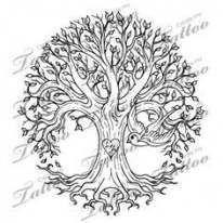 Family Tree Tattoo With Names (130)