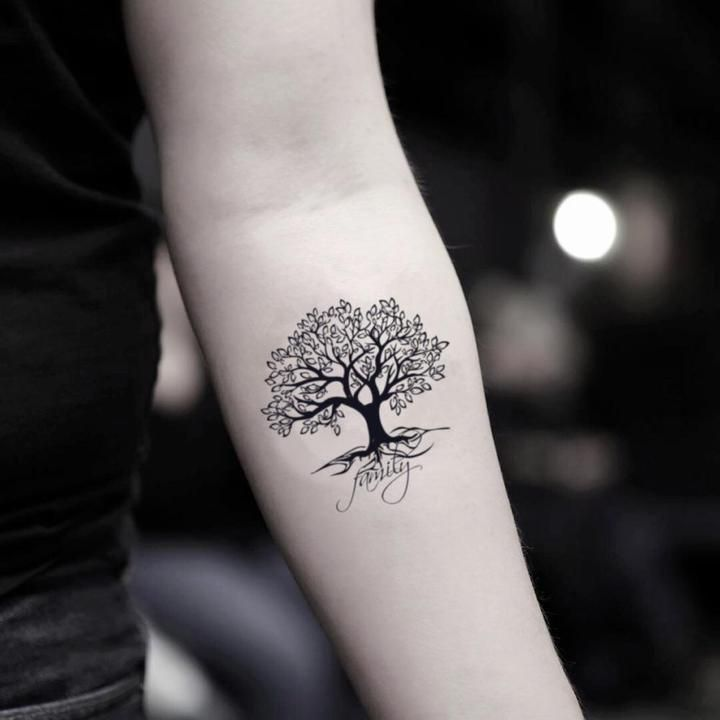 Family Tree Tattoo With Names (132)