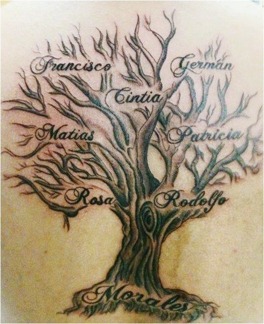 Family Tree Tattoo With Names (136)
