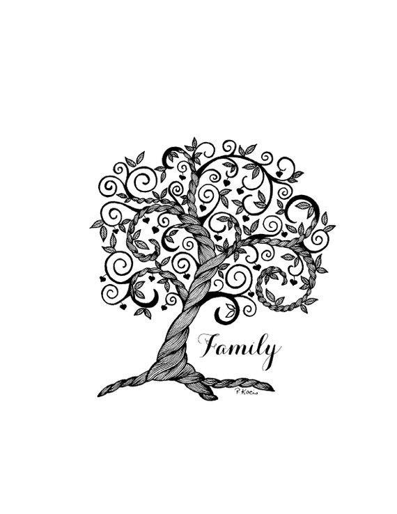 Family Tree Tattoo With Names (140)