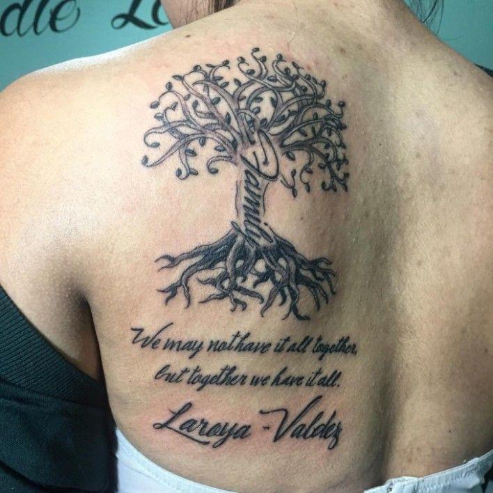 Family Tree Tattoo With Names (157)