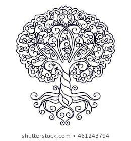 Family Tree Tattoo With Names (165)