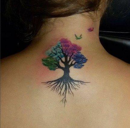 Family Tree Tattoo With Names (180)