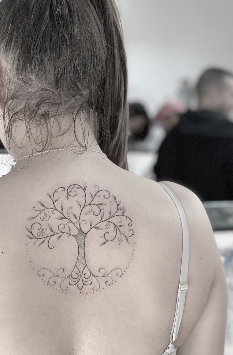 Family Tree Tattoo With Names (191)