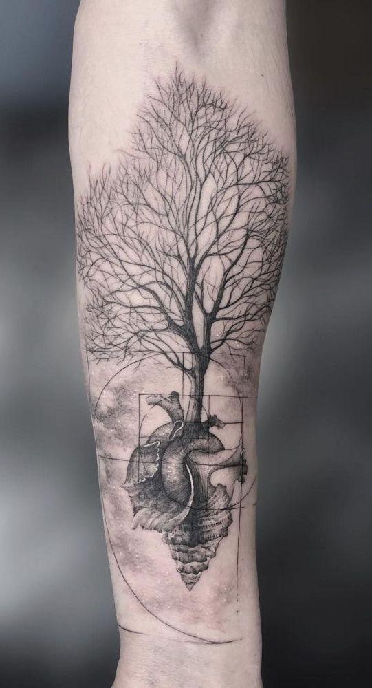 Family Tree Tattoo With Names (192)